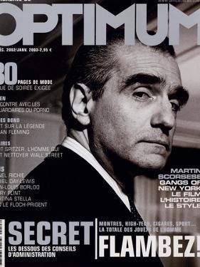 L'Optimum, December 2002-January 2003 - Martin Scorsese by John Stoddart