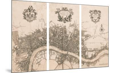 Plan of the City of London, 1720 by John Stow