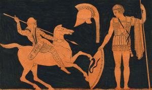 Greek Soldiers by John Strutt