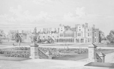 Brampton Park, Huntingdonshire, 1852 (Litho)