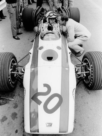 John Surtees in Honda V12, Belgian Grand Prix, 1968