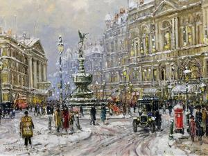 Piccadilly Circus by John Sutton
