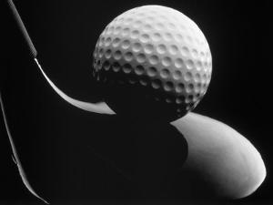 Golf Club and Golf Ball by John T. Wong