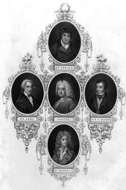 Eminent 18th Century Musicians by John Tallis