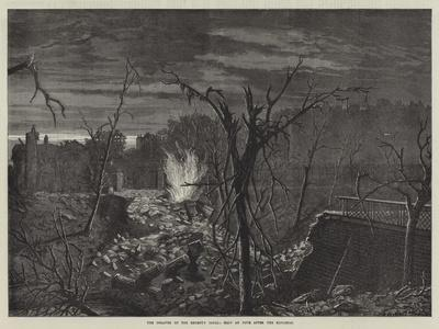 The Disaster on the Regent's Canal, Half an Hour after the Explosion