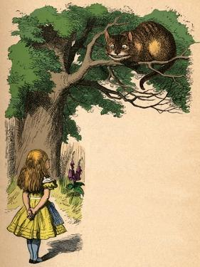 'Alice and the Cheshire Cat', 1889 by John Tenniel