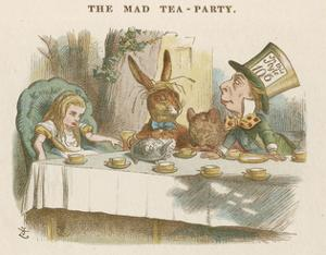 Alice at the Mad Hatter's Tea Party by John Tenniel