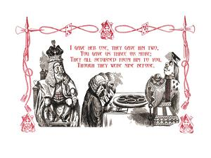 Alice in Wonderland: King and Tarts by John Tenniel