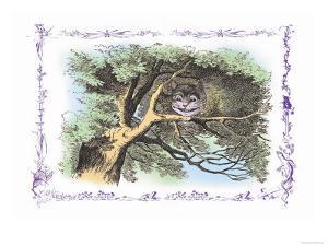 Alice in Wonderland: The Cheshire Cat by John Tenniel
