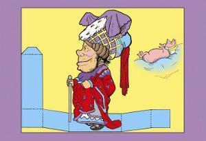 Alice in Wonderland: The Duchess by John Tenniel