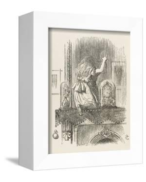 Alice Looking Through the Looking Glass 1 of 2: This Side by John Tenniel