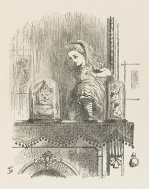 Alice Looking Through the Looking Glass 2 of 2: The Other Side by John Tenniel