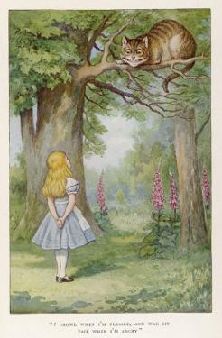 Cheshire Cat by John Tenniel