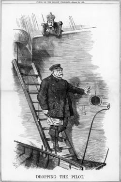 Dropping the Pilot, 1890 by John Tenniel