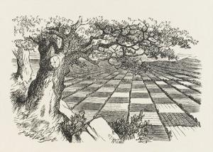 Looking Glass Country by John Tenniel