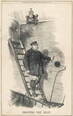 Otto Bismarck German Chancellor Dismissed by Kaiser Wilhelm II: Dropping the Pilot by John Tenniel