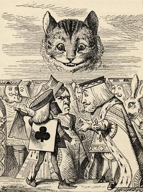 The King of Hearts Arguing with the Executioner, from 'Alice's Adventures in Wonderland' by Lewis… by John Tenniel
