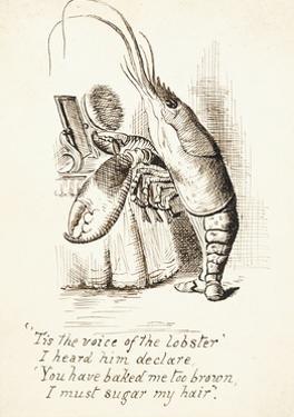 The Lobster by John Tenniel