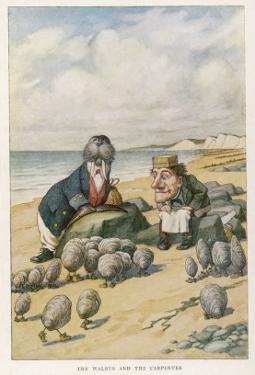 The Walrus and the Carpenter by John Tenniel