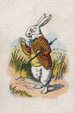 Too Late Said the Rabbit, 1930 by John Tenniel