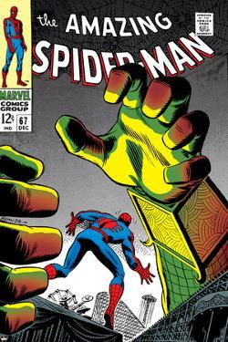 The Amazing Spider-Man No.67 Cover: Mysterio and Spider-Man by John