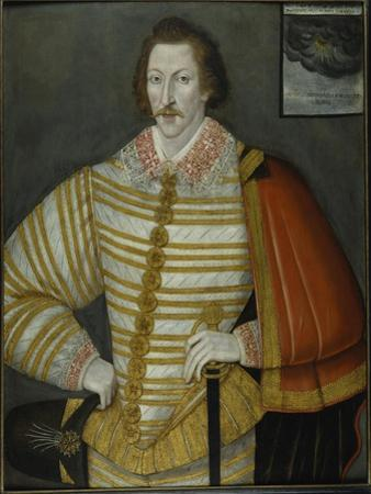 Portrait of Thomas Cavendish, the Circumnavigator, 1588-91 by John the Younger Bettes