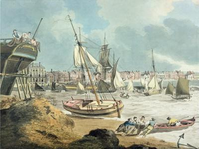 Harbour at Weymouth, Dorset, 1805