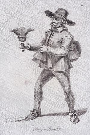 Buy a Brush, C1680, from Cries of London