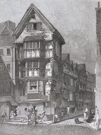 Fleet Street, London, 1812