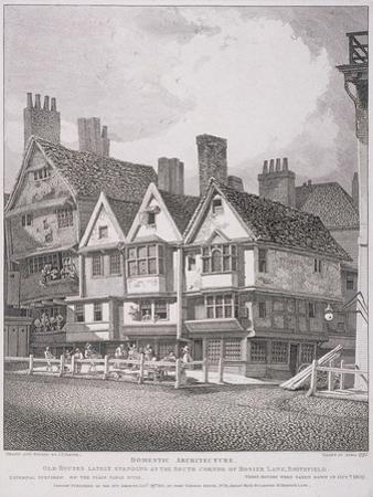 Hosier Lane, London, 1811
