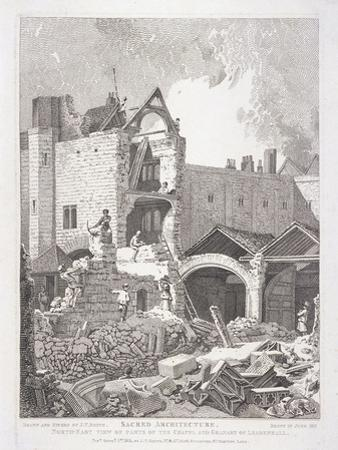 Leadenhall Chapel, London, 1814