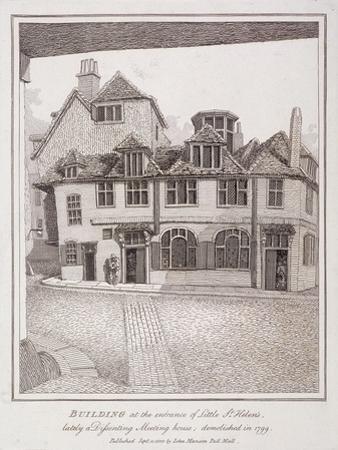 Little St Helen'S, London, 1800