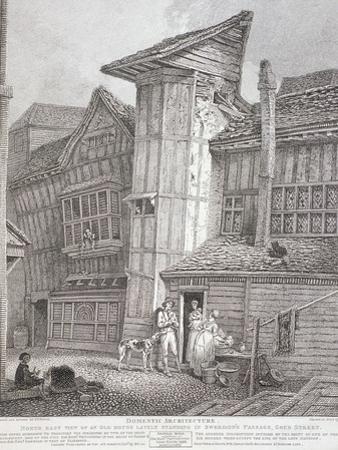 Milton Street, London, 1791 by John Thomas Smith