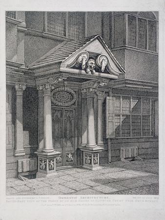 Milton Street, London, 1813