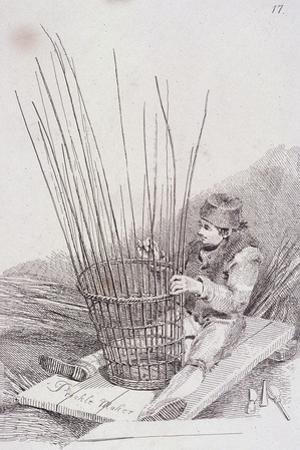 Prickle Maker, Cries of London, (C1819)