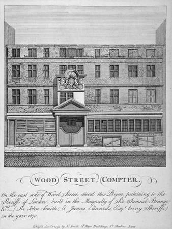 View of Wood Street Compter, City of London, 1793