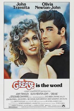 "JOHN TRAVOLTA; OLIVIA NEWTON-JOHN. ""Grease"" [1978], directed by RANDAL KLEISER."
