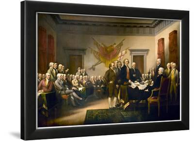 John Trumbull (Declaration of Independence) Art Poster Print