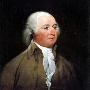 John Adams by John Trumbull