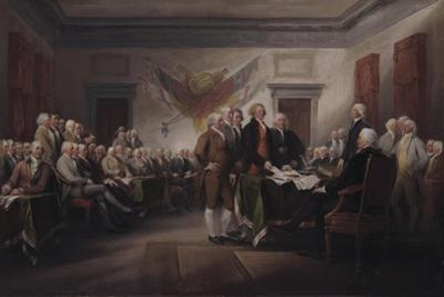 The Declaration of Independence, July 4, 1776, 1817
