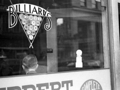 Billiard Hall, Greensboro, North Carolina, c.1938