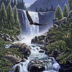 Sanctuary Falls by John Van Straalen