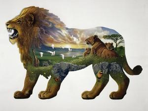The Lion King by John Van Straalen