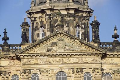 Facade of Castle Howard