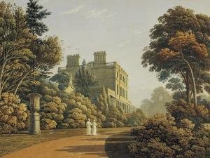 Higham House in Woodford by John Varley