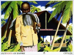 Outposts of Empire, Ceylon by John Vickery