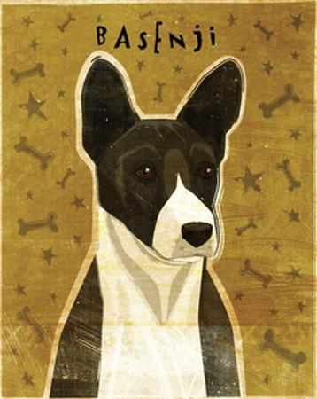 Basenji (Black) by John W. Golden
