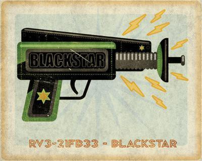 Blackstar Ray Gun by John W. Golden