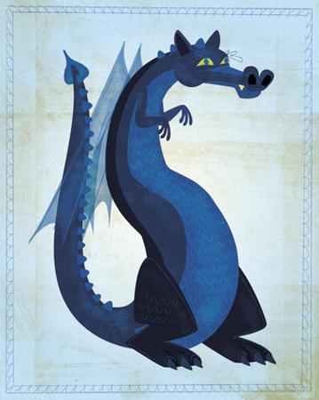 Blue Dragon by John W. Golden