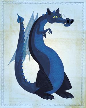 Blue Dragon by John W. Golden